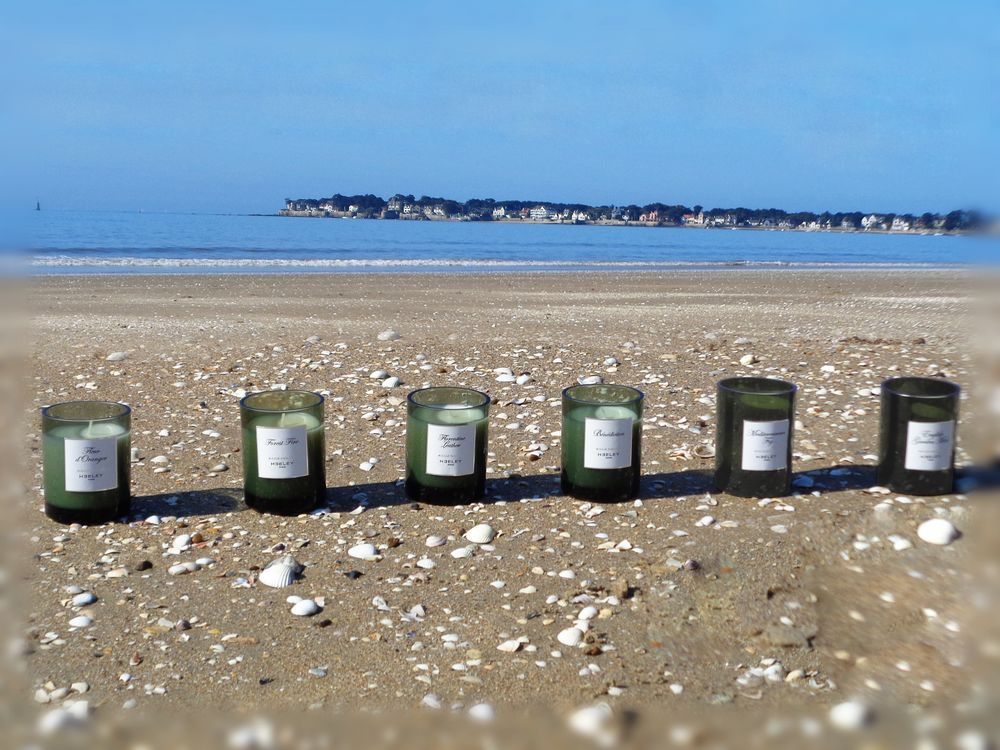 07 6 bougies parfumees james heeley sur plage face mer