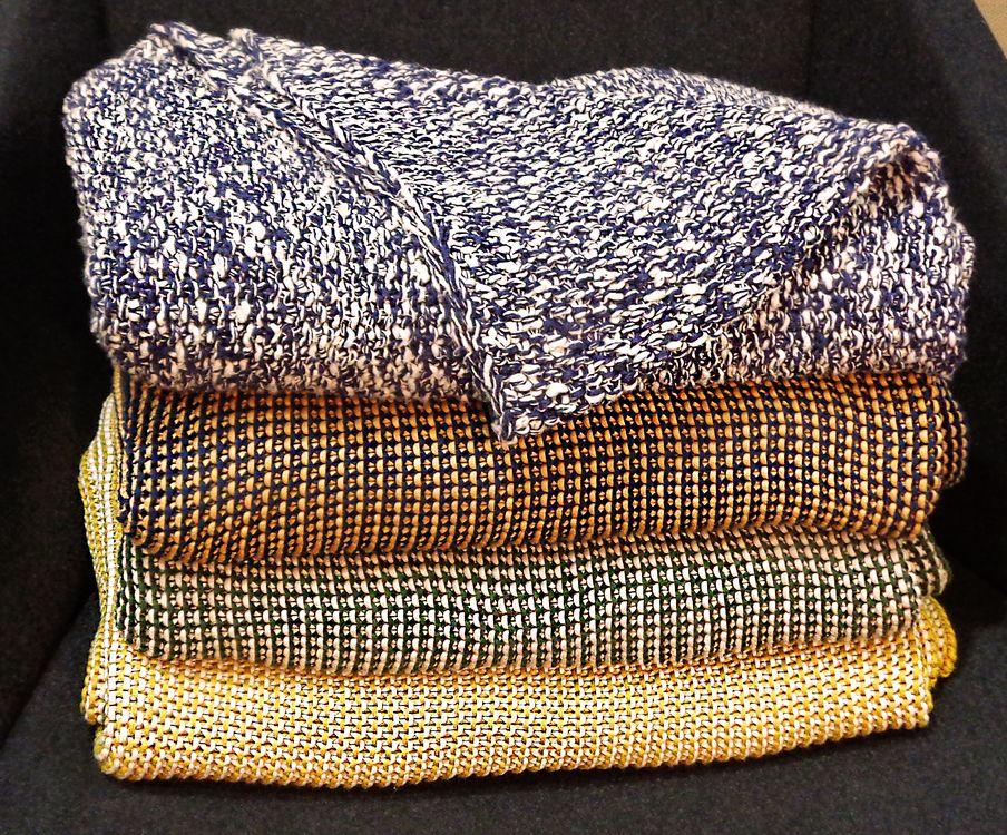 12 plaids mailles coton eno studio