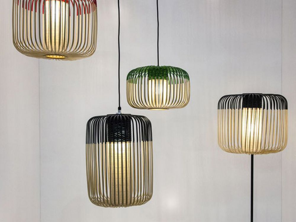 14 luminaires bamboo collection forestier